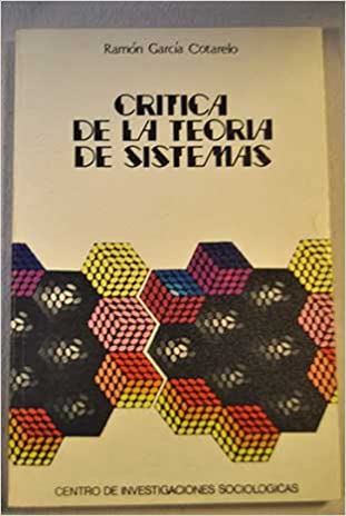 Descargas gratuitas para libros Crítica de la Teoría de sistemas (Monografías) FB2 8474760089