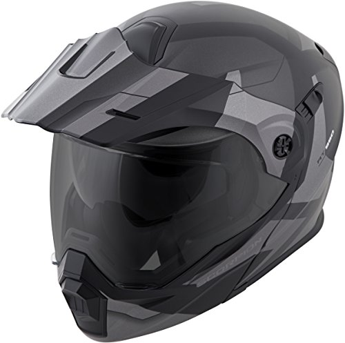 (Scorpion EXO-AT950 Modular Neocon Street Bike Motorcycle Helmet - Silver/Large)