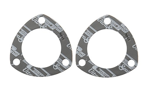 Mr. Gasket 5980 Ultra Seal Triangle Collector and Header Muffler Gasket - 2 Piece Set (Collector Gasket Exhaust)
