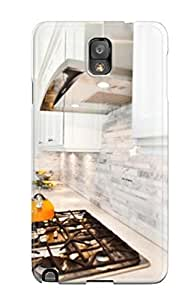 For Galaxy Note 3 Tpu Phone Case Cover(gas Stovetop Countertop)