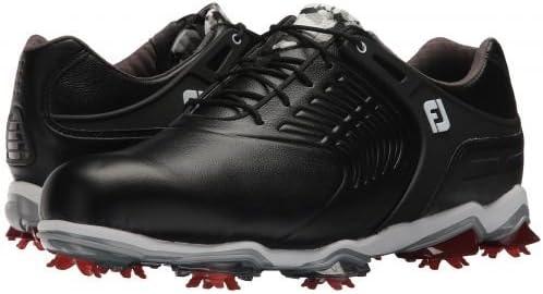 [フットジョイ] メンズ 男性用 シューズ 靴 スニーカー 運動靴 Tour S Cleated TPU Saddle Strap - All Over 黒 [並行輸入品]  8.5 M