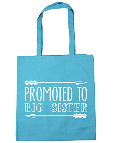 Bag Surf Beach Promoted litres 10 To x38cm Sister Blue Shopping HippoWarehouse Gym 42cm Tote Big wB8Kfx