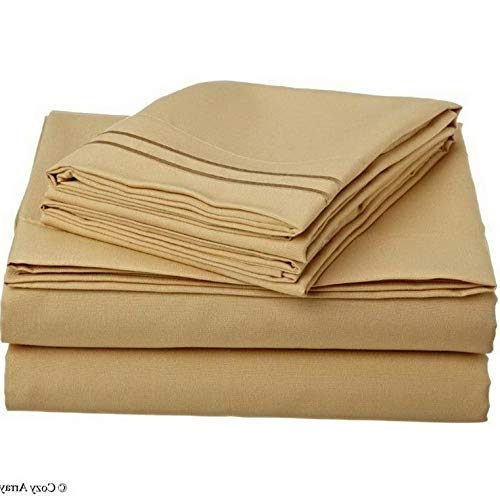 Hebel 1500 Thread Count 4 pc Bed Sheet Set Model SHTST - 957 | Full