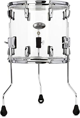 Pearl Crystal Beat Floor Tom - 14 Inches X 13 Inches Ultra Clear