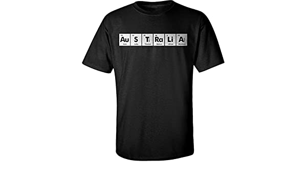 Amazon australia periodic table chemistry funny adult unisex amazon australia periodic table chemistry funny adult unisex t shirt for men and women x1 clothing urtaz Images