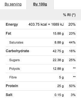 Prozis Protein Deluxe Bar 12 x 80 g - Delicioso aperitivo con sabor a chocolate y avellanas para disfrutar sin remordimientos: 20 g de proteínas, ...