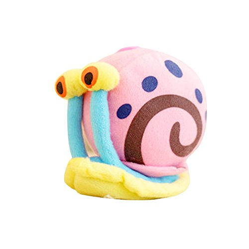 JAMOR Plush Toy Spongebob Plush Toy Doll Sucker Pendant Squidward Tentacles Gary the Snail Plankton Eugene H. Krabs (Gary the Snail)