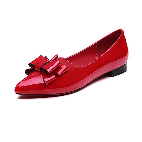 Adeesu Femmes Compensées Pour Rouges Sandales rq0fr