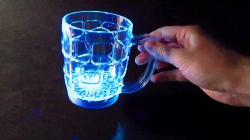 Led Light Up Beer Mug