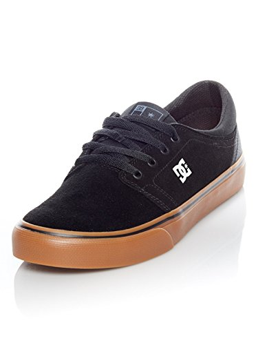 DC Boys' Pure Skateboarding Shoes Multi-Couleurs - Black/White/Red hnMWI