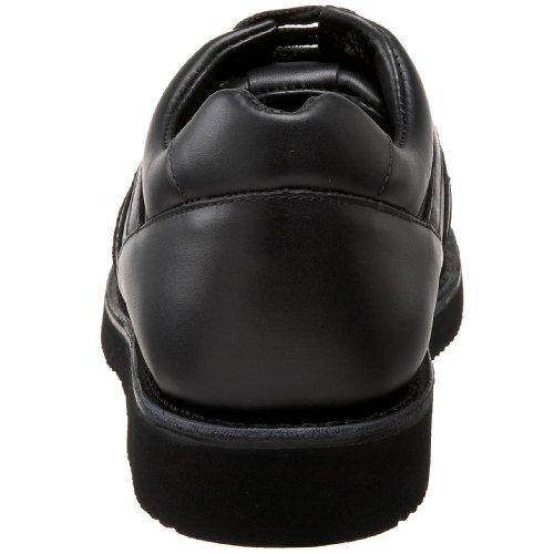 Trok Schoen Mens Tracker Therapeutische Oxford Zwart