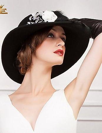 594b32b0 ZHQ Women's Wool Headpiece - Special Occasion Hats , peach-m , peach ...