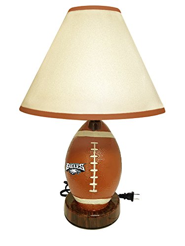 Football Shaped Desk Lamp Featuring Your Favorite Football Team! (Eagles)