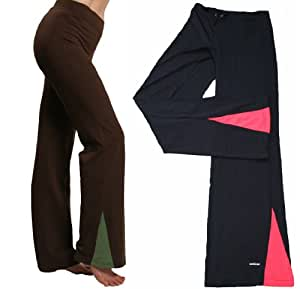 Dri Fit Active Workout Gym Exercise Fitness Yoga Pants Black