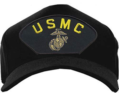 Eagle Crest U.S. Marine Corps Insignia USMC EGA Baseball Cap Black