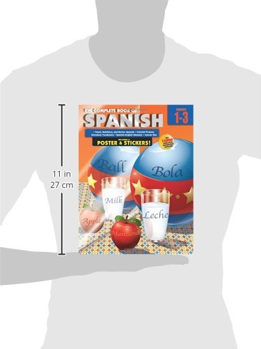 The Complete Book of Spanish, Grades 1 - 3: American Education ...