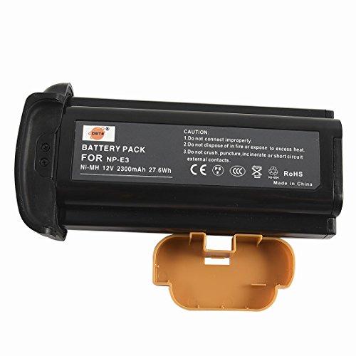 Canon Np E3 Nimh Battery - DSTE NP-E3 Replacement Ni-MH Battery for Canon EOS 1D EOS 1D MarkII EOS 1D MarkII N EOS 1DS EOS 1DS MarkII Camera