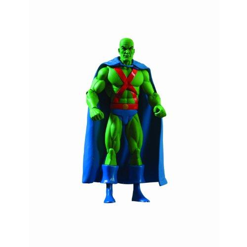History of the DC Universe: Series 4: Martian Manhunter Action Figure (Martian Manhunter Costume)
