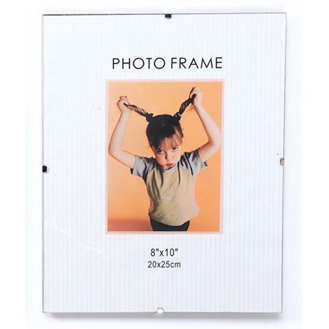 Bulk Buy: Darice DIY Crafts Glass Clip Photo Frame 8x10 inches (12-pack) 97219