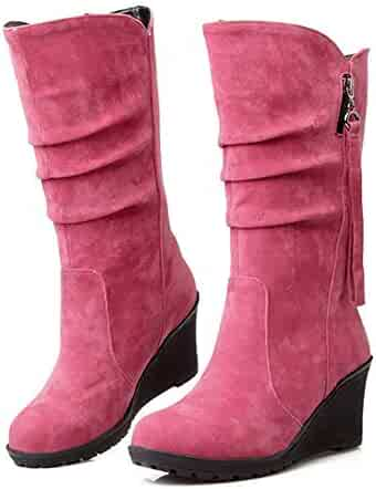 3e33f1865d9 Shopping Wedge - Pink - Boots - Shoes - Women - Clothing