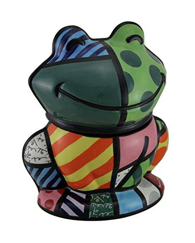 (Westland Giftware Frog Cookie Jar - Romero Britto)