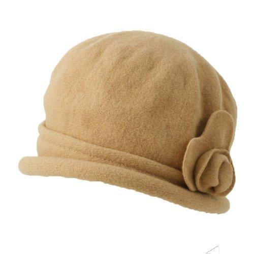 Parkhurst Spencer Wool Cloche (Camel)