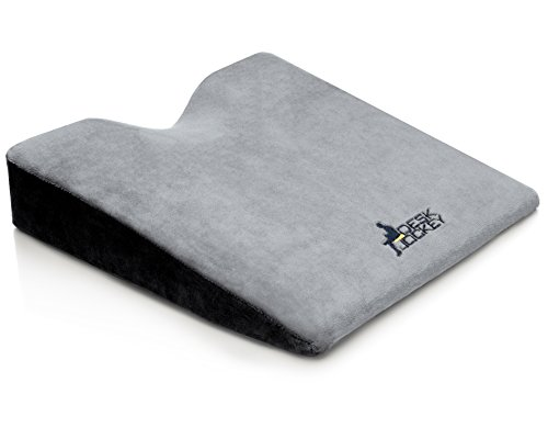 Car Seat Cushion - Premium Therapeutic Grade Car Wedge Cushion - seat cushion for car - wedge cushion for car - auto seat cushion - firm driving seat cushion to increase height (Riding Law Mowers)