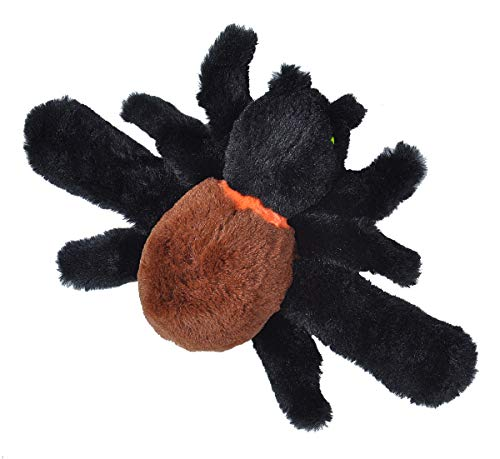 Wild Republic Huggers Plush Toy, Slap Bracelet Stuffed Animal, Spider, 8