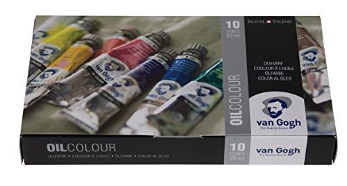 Van Gogh Oil Color Paint, 10x20ml Tubes, Basic Set (Best School Uniform In India)