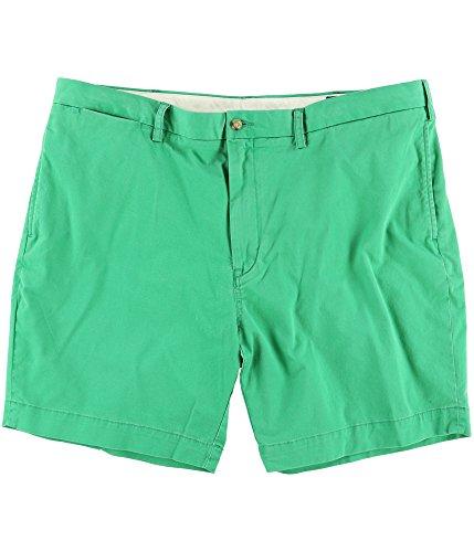 Ralph Lauren Flat Front Shorts - Polo Ralph Lauren Men's Green Classic-Fit Flat Front Stretch Shorts 31 BHFO 5656