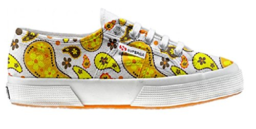 Superga Customized zapatos personalizados Hippie Paisley (Zapatos Artesano)
