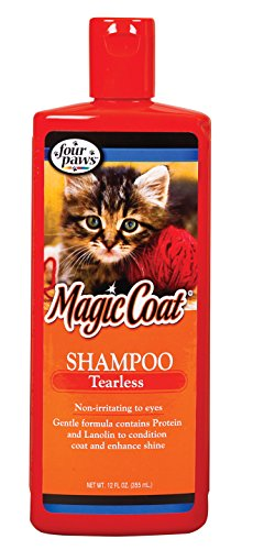 Magic Coat Cat Tearless Shampoo, 12-Ounce