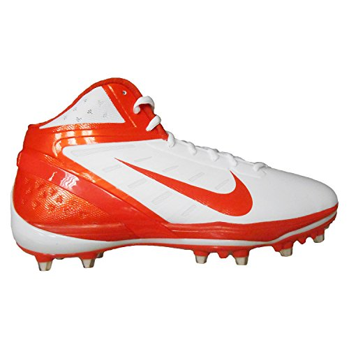 Nike Air Zoom Alpha Talon Heren Voetbalcleats Wit / Oranje Flits