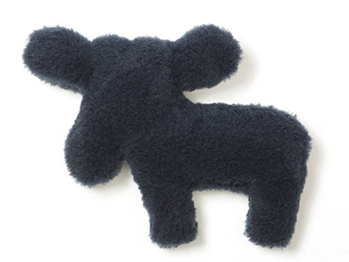 West Paw Design Madison Moose Squeak Toy for Dogs (Midnight) by West Paw