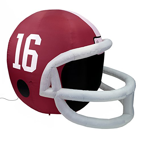 (Fabrique Innovations NCAA  Inflatable Lawn Helmet, Alabama Crimson Tide)