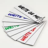 Dry Erase White Magnetic Strip Roll 2'' x 25' Write on / Wipe off Magnet by Magnet Valley