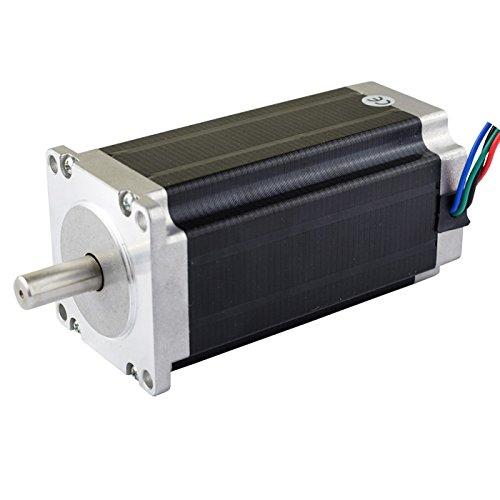 3PCS 3Nm Nema 23 Stepper Motor 4.2A 4-wires 10mm Shaft DIY CNC Mill Lathe Router