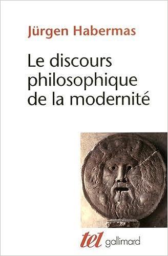 Livres gratuits Le discours philosophique de la modernité: Douze conférences pdf, epub ebook