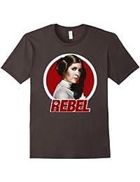 Princess Leia Original REBEL Badge Graphic T-Shirt