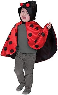 Halloweenia – Niños Joven Chica Disfraz En Mariquita Mayo ...
