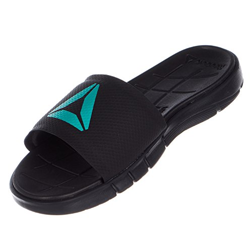Reebok Kobo H2OUT Athletic Sandal - Mens Cfg-black / Coal / Neon Pacific / White RZOLiDFY