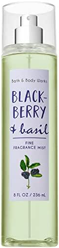 Bath and Body Works Blackberry & Basil Fine Fragrance Mist 8 Fluid Ounce (2018 Edition)