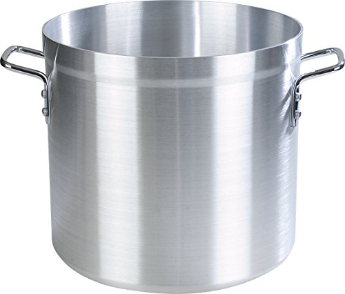 Carlisle 61232 Professional Standard Weight Aluminum Stock Pot, 32 Quart by Carlisle