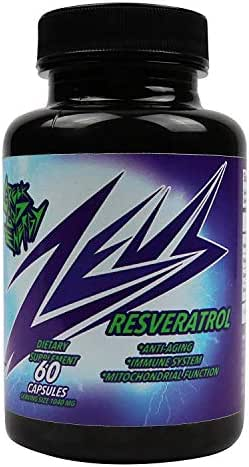 Zeus RESVERATROL Premium Strength Polyphenol Supplement -Powerful Antioxidant & Anti-Aging Blend Formula -Resveratrol Capsules with Quercetin, Grape Seed &Green Tea Extract-100% Natural & Made in USA