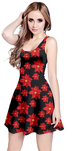 Dress XS Sleeveless CowCow Snow Christmas Womens Xmas Winter 5XL Santa Xmas Flowers Deer 1xpp6w8z