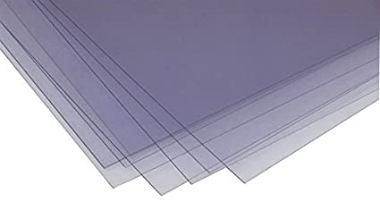 Hojas de acetato transparente de PVC, tamaño A4, 1000 hojas, 140 ...