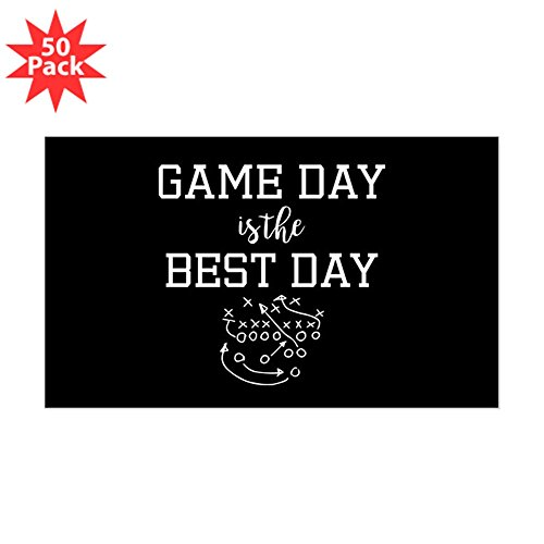 CafePress - Game Day Is The Best Day - Sticker (Rectangle 50 pk) by CafePress