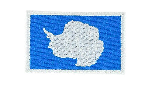 Patch Insignia bandera termoadhesiva backpack antartique Polo ...