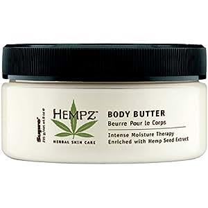 Hempz Herbal Skin Care Body Butter, 8 oz (227 g)