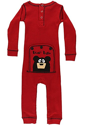 Infant LazyOne Bear Bum Onesie Pajamas